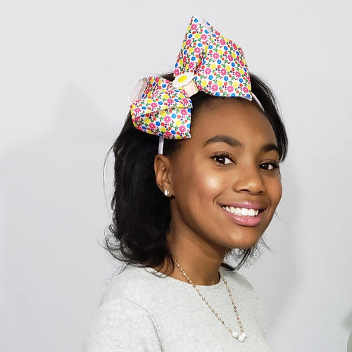 Zyilaya Sunshine & Daisies Multi Floral Headband - Houzz of DVA Boutique