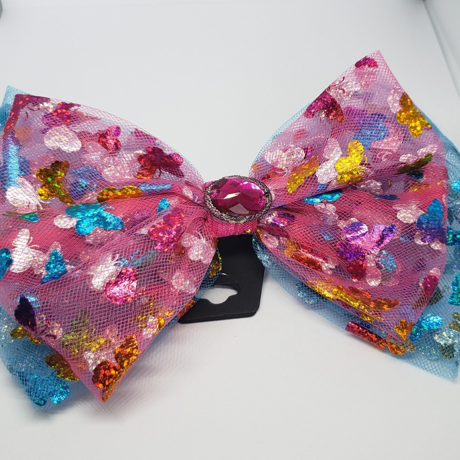 Zyilaya Pink Butterfly Fun Bow - Houzz of DVA Boutique