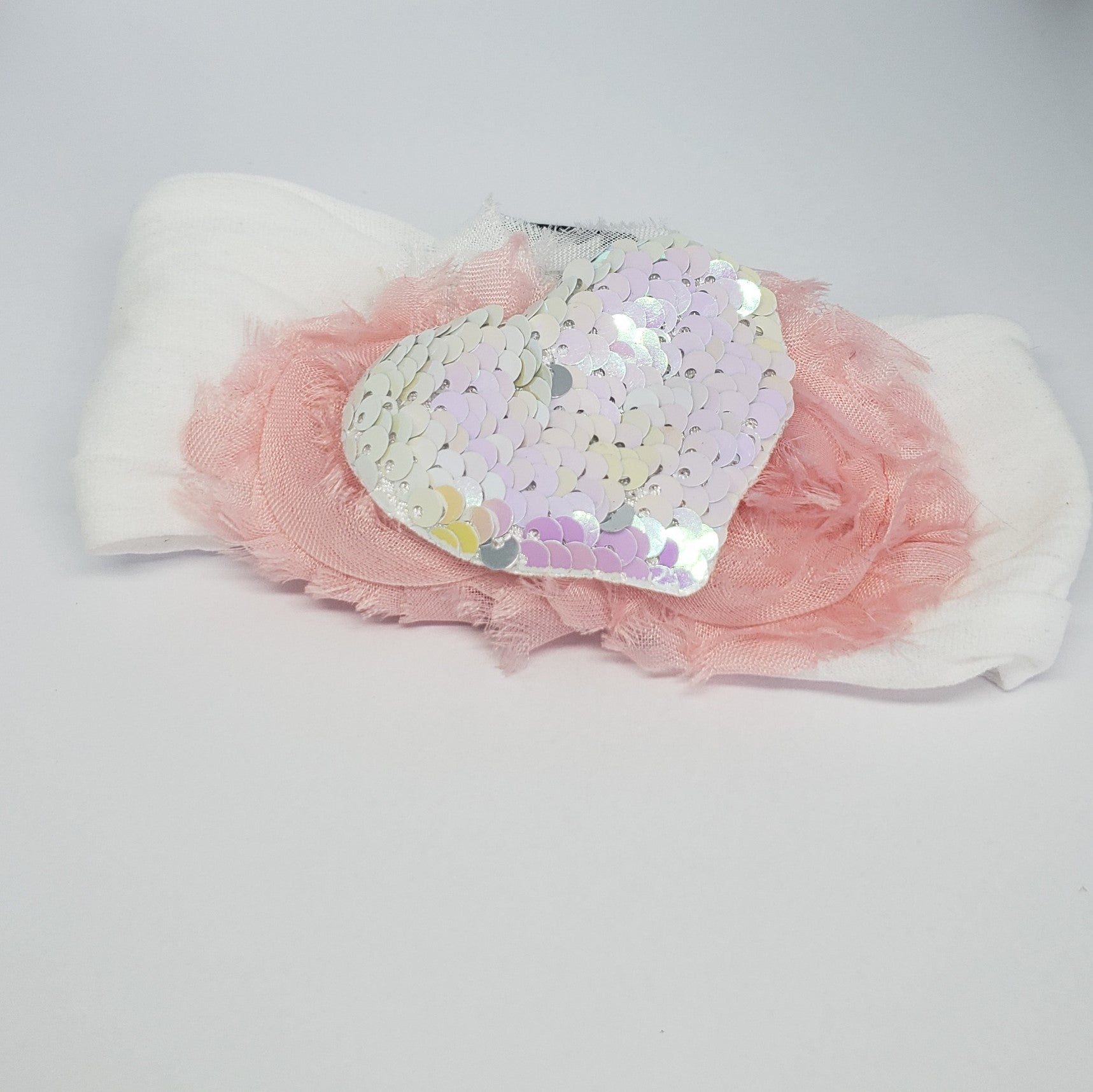 N-Zala Girly Heart Baby Headband - Houzz of DVA Boutique