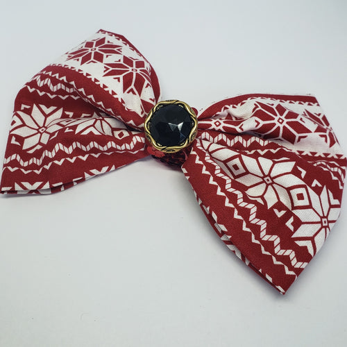 Kelsea Santa's Sweater Party Bow - Houzz of DVA Boutique