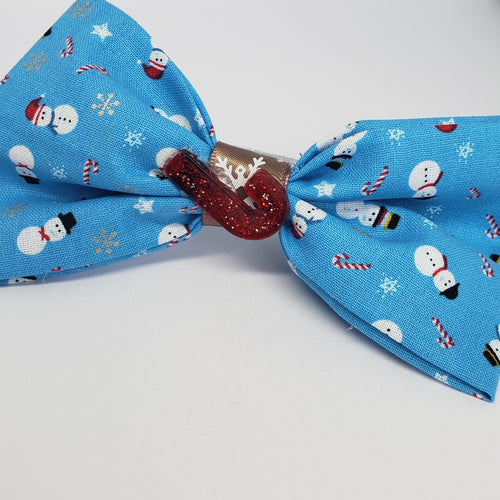 MiAmor Frosty's Cane Bow - Houzz of DVA Boutique