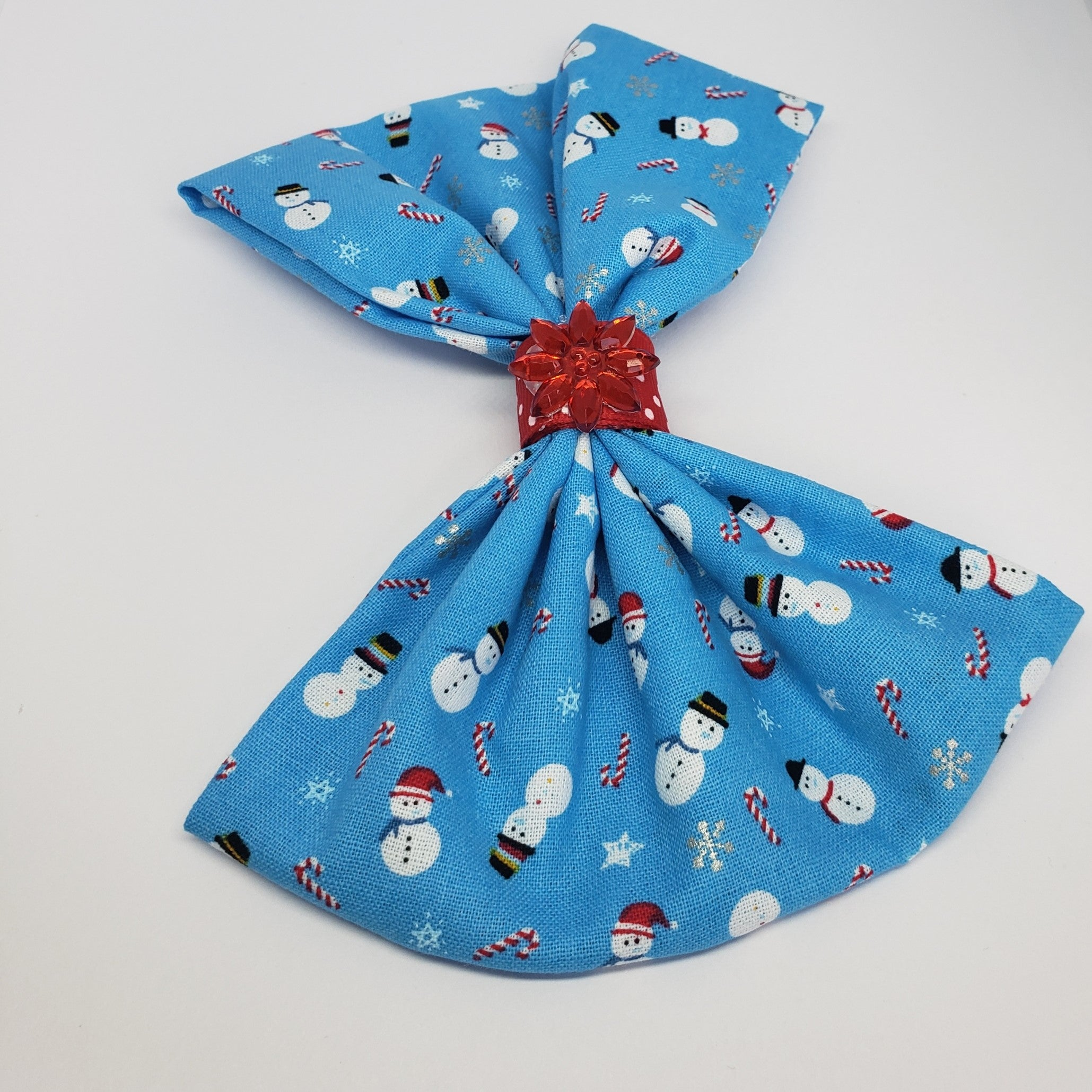 MiAmor Snowy Flake Bow - Houzz of DVA Boutique