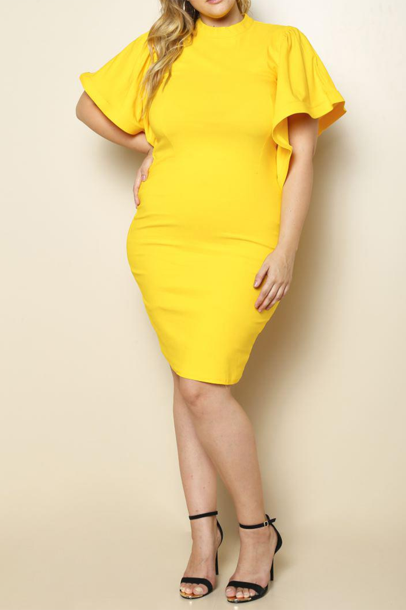 Sunni Daze Midi Dress - Houzz of DVA Boutique