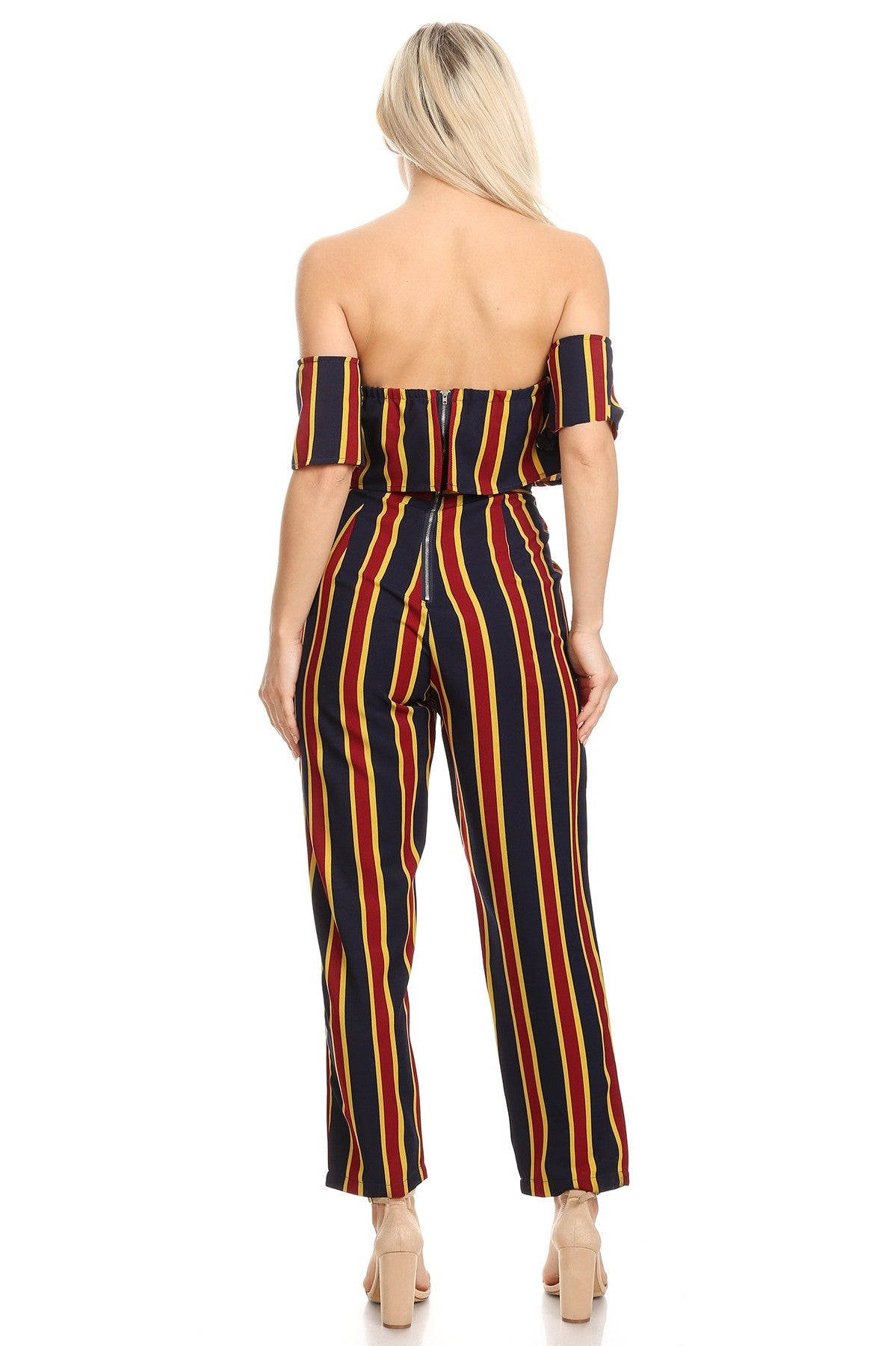 Summer Time Fine Jumpsuit - Houzz of DVA Boutique