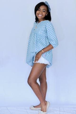 Caribbean Queen Lace Tunic