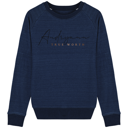 Denim Sweatshirt Femme - The smart explorateur