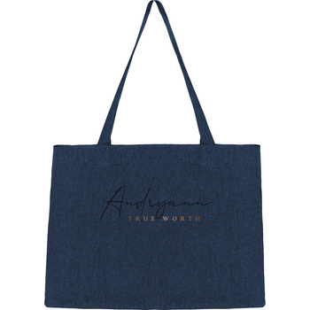 Tote bag shopping recyclé Andryann - The smart explorateur