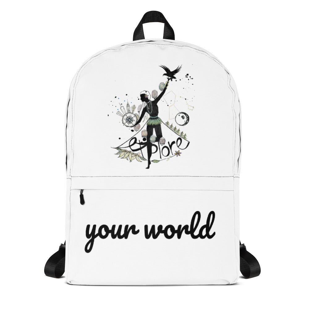"Sac à dos ""Explore Your World"" - The smart explorateur"