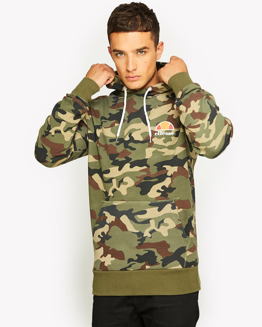 Toce Hooded Sweat  / Camo Print