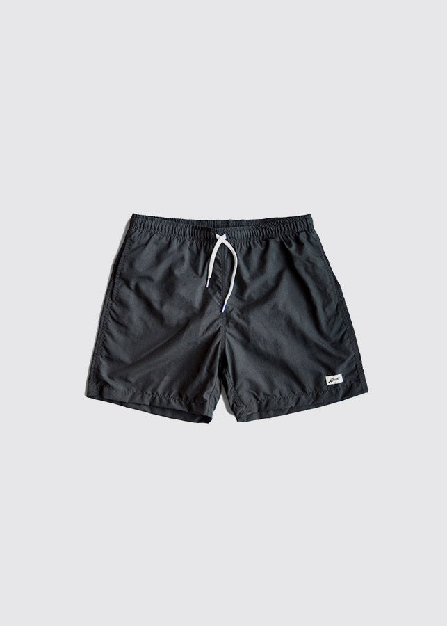 Swim Trunk / Solid Grey