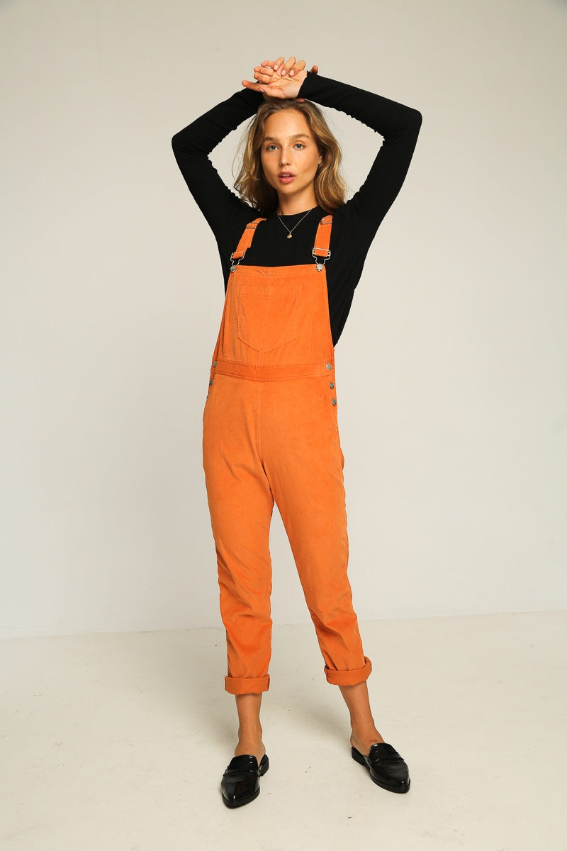 Stanford Overalls / Burnt Orange