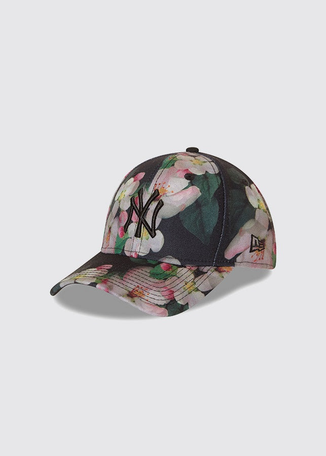 New York Yankees / 9FORTY® Womens / Black Floral