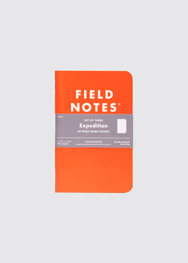 Field Notes - Expedition / Set Of Three