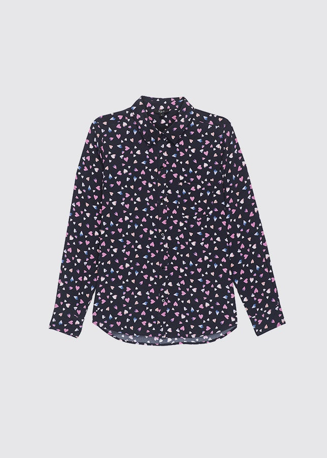 Kate Shirt / Navy Corazon
