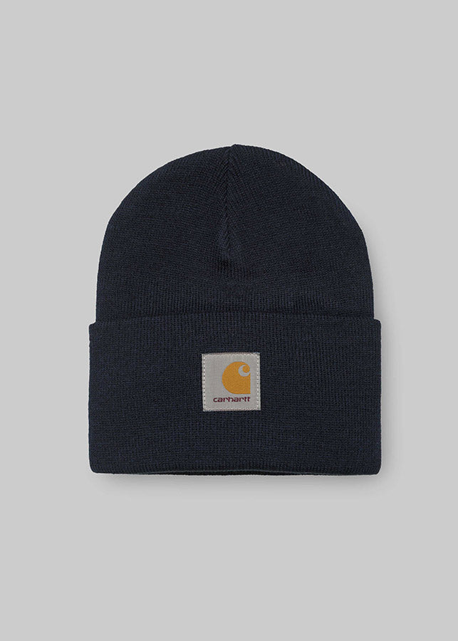 Acrylic Watch Hat / Solid Navy