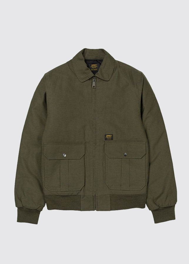 Aviator Lined Jacket / Cypress