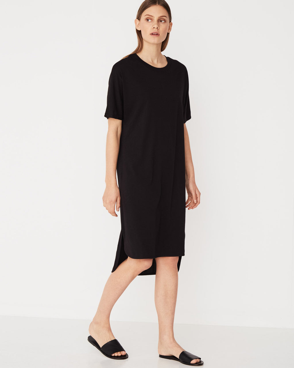 Oversized Tee Dress / Black