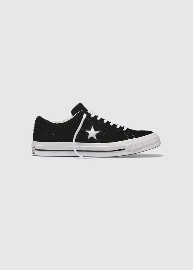 One Star Suede Low / Black