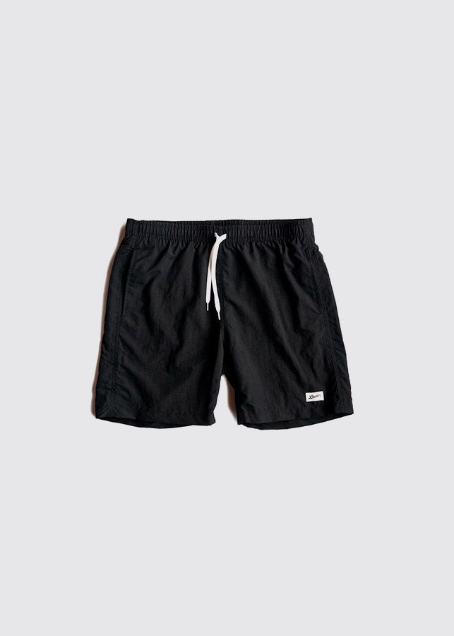 Swim Trunk / Solid Black