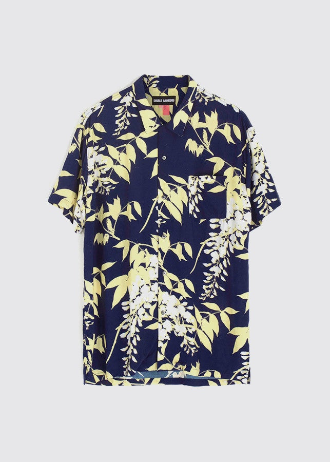Wisteria Blue Hawaiian S/S Shirt