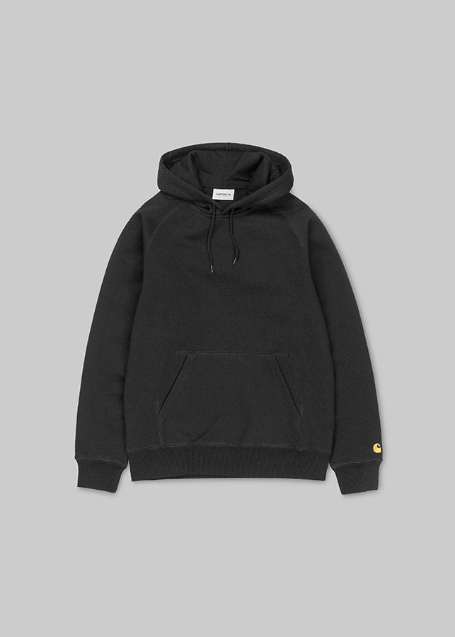 Hooded Chase Sweat Black/Gold
