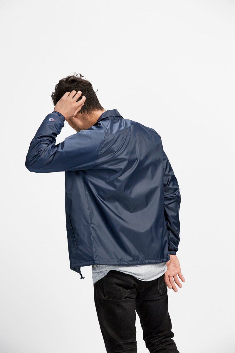 Coaches Jacket / Navy