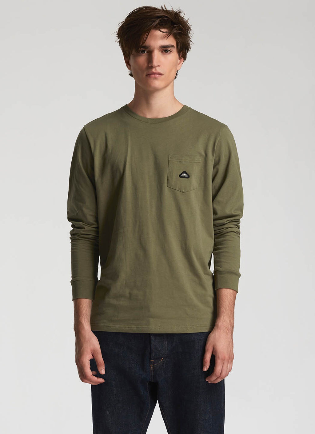 Northbridge L/S Tee / Olive