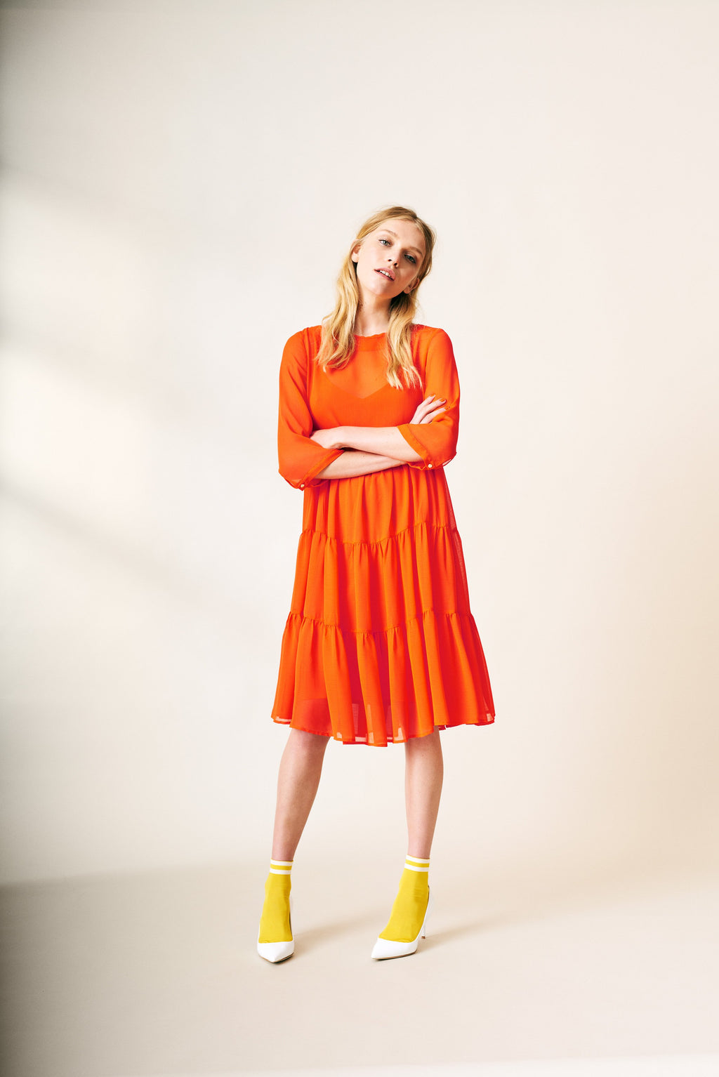 Agnetha Dress / Orange