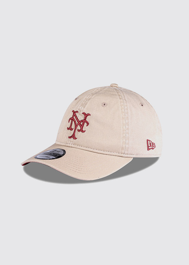New York Mets / 9TWENTY® Adjustable Cap / Camel-Rust