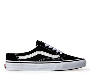 Old Skool Mule / Black-White