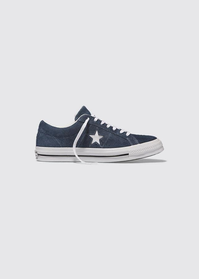 One Star Suede Low / Navy