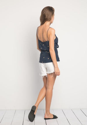 St Clair Top / Navy Stars