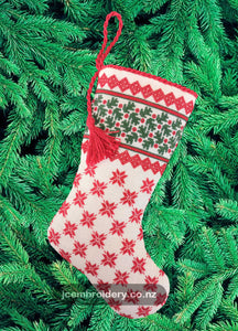 Latest Release - Medium Christmas Stocking #1