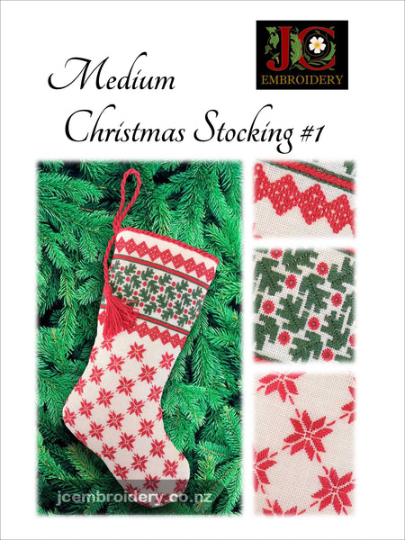 Medium Christmas Stocking #1