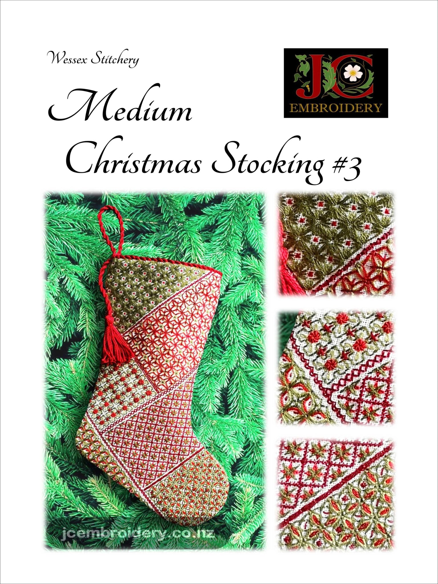 Medium Christmas Stocking #3