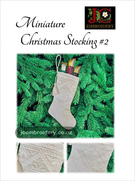 Mini Christmas Stocking #2