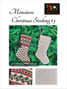 Mini Christmas Stocking #3