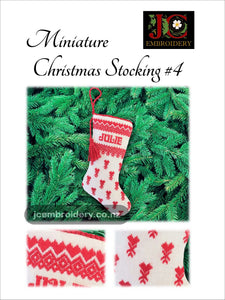 Mini Christmas Stocking #4