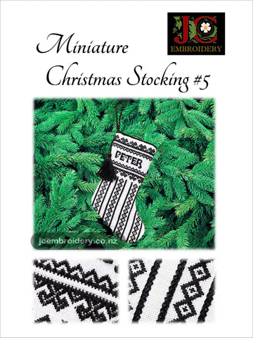 Mini Christmas Stocking #5