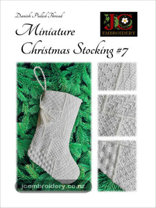 Mini Christmas Stocking #7