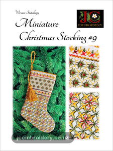 Mini Christmas Stocking #9