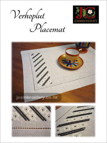 Verhoplut Placemat -  #2 in the Placemat Series