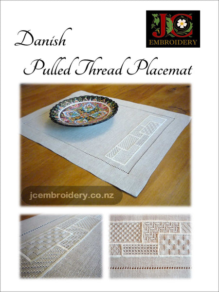 Danish Pull Thread Placemat - #3 in Placemat Series