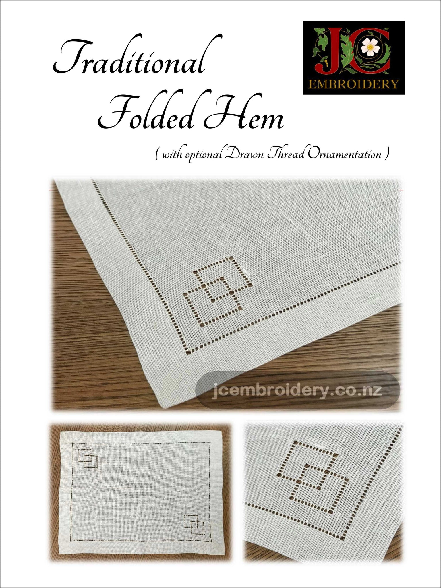 Traditional Folded Hem