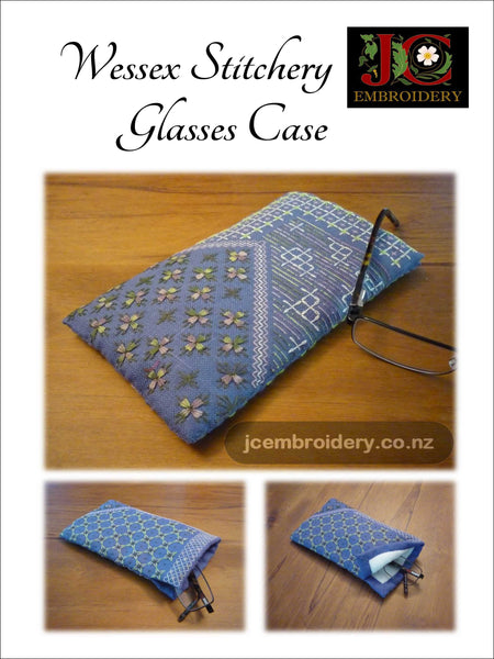 Wessex Stitchery Glasses Case