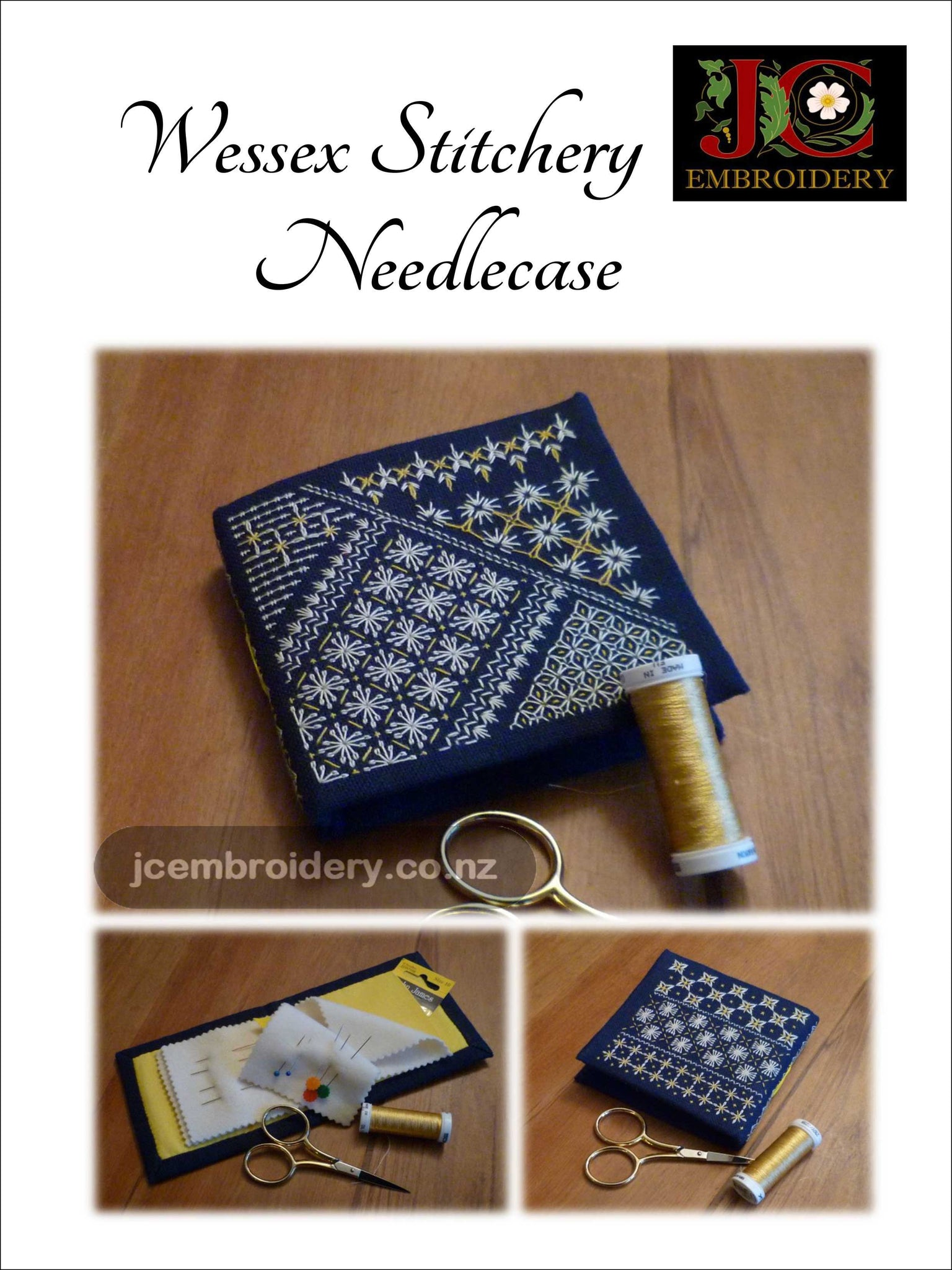 WS_Wessex Stitchery Needle Case