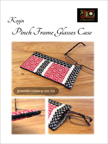 Kogin Glasses Case - Pattern Darning Kit
