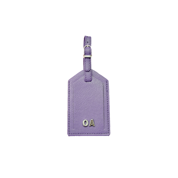 Personalised Luggage Tag | Purple