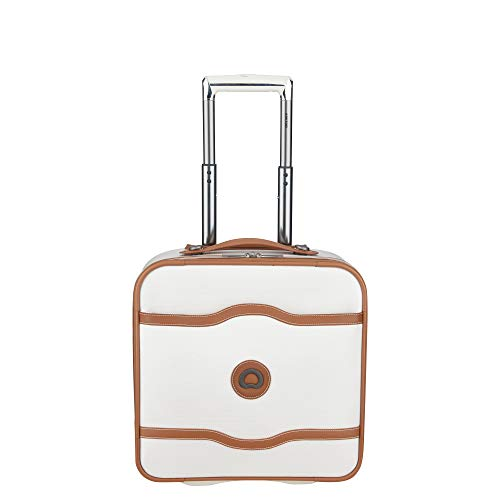 DELSEY Paris Chatelet Soft Air Luggage Under-Seater with 2 Wheels, Champagne, Carry-on 16 Inch