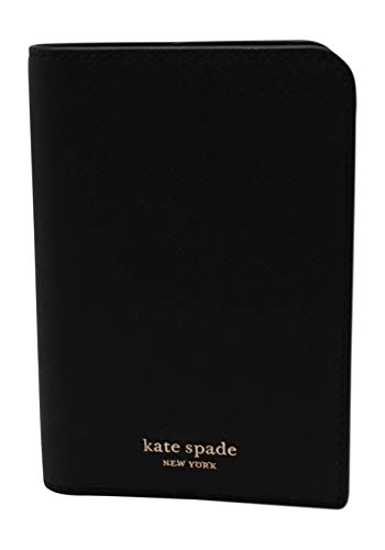Kate Spade New York Cameron Saffiano Leather Passport Holder Wallet Black